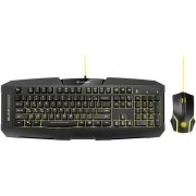 Kit Tastatura si Mouse Gaming Sharkoon Shark Zone GK15 (Negru)