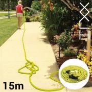Tuinslang die automatisch langer wordt, maat XL
