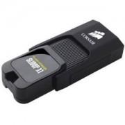 Флаш памет Corsair Voyager Slider X1 USB 3.0 32GB, Capless Design, Read 130MBs, Plug and Play, Черен - CMFSL3X1-32GB