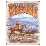 """Sign - Welcome Cowboy Country"""