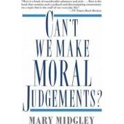 Can't We Make Moral Judgements? by Na Na