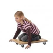 Guruló deszka pedalo® (Pedalo) 60x35 cm , 150 kg-ig terhelhető , fából készült kivitel