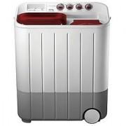Samsung WT707QPNDMW Semi-automatic Top-loading Washing Machine (7 Kg Grey and Red)