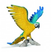 Figurina animal papagal macaw