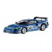 Hotwheels Elite - Modellino automobilistico in scala 1:43 di Ferrari F40 Competizione 1995 Le Mans Pilot