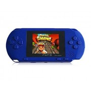 Acgam 3 Inch Lcd Screen 16 Bit Handheld Game Console With Free Game Card Built-In 150 Classic Games (Blue)