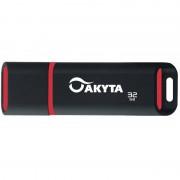 Memorie USB Akyta Kyoto Line 32GB USB 2.0 Black Red