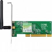 placa retea PCI fara fir, 150Mbps, antena detasabila TP-Link - vit_ADAPT-WLAN-WN751ND-TPL