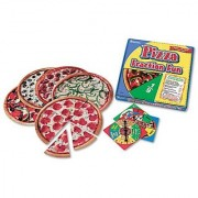 Learning Resources Pizza Fraction Fun Math Game for Grades 1 and Up