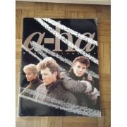 A-Ha - Programme World Tour 1986-1987