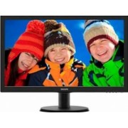 Monitor LED 23.6 Philips 243V5LHSB00 Full HD 1ms Negru