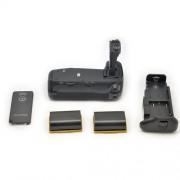 2x LP-E6 + Grip BG-E14 Batterie Multi Power pour Canon EOS 70D DSLR
