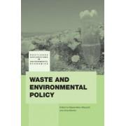 Waste and Environmental Policy by Massimiliano Mazzanti