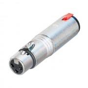 Neutrik - NA3FJ Adapter XLR-Klinke XLR female-Klinke female