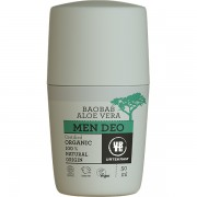 Deo roll bio organic cu aloe vera si baobab pentru barbati 50ml