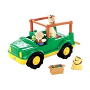 Little People Fisher Price W1711 Il camion safari Little People