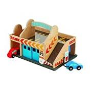 Melissa & Doug 19271 Service Station Parking Garage Toy