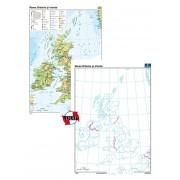 Marea Britanie şi Irlanda – Duo 70x100 cm