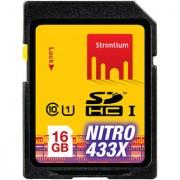 Strontium Nitro 433X 16 Gb Sdhc Memory Card - Class-10