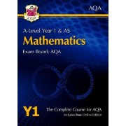 New A-Level Maths for AQA: Year 1 & AS Student Book with Online Edition by CGP Books