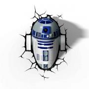 Gadgy 3D Wandleuchte Star Wars R2-D2