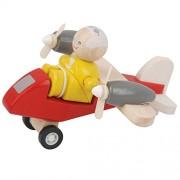 Plan Toys 60461 Turboprop Aeroplane With Pilot