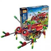 Motorial Alien Robot: Burst Cicada - Robotic Building Set Block Toy ,Battery Motor Operated,3D Puzzle Design Alien...