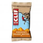 CLIF Bar Energybar Sportvoeding Crunchy Peanutbutter 68g beige Energierepen