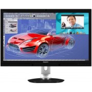 "Monitor PLS LED Philips 27"" 272P4QPJKEB/00, DVI-DL, HDMI, 6ms GLG, Boxe (Negru)"