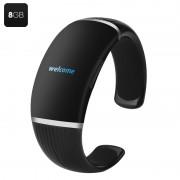 Bracelet Enregistreur numérique - MP3, 8 Go, écran OLED + enregistrement
