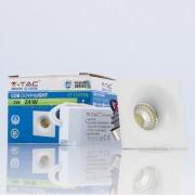 Downlight LED 3w»8W Luz Quente 200Lm 60º Q