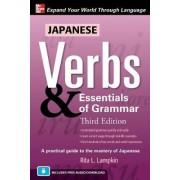 Japanese Verbs and Essentials of Grammar by Rita L. Lampkin