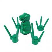 "MinifigurePacks: Lego Dinosaur ""BABY T-REX"" in the Grass (Green)"