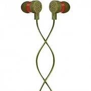 House of Marley EM-JE070-GR Mystic In-Ear Headphone in Green