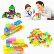 144pcs Plastique Building Blocks Enfants Jouets Puzzle Jouet Éducatif Foam Cadeau Bébé