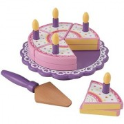KidKraft Wooden Birthday Cake Set
