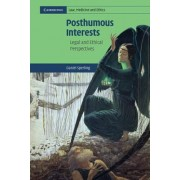 Posthumous Interests by Daniel Sperling