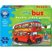 Puzzle Orchard Toys Little Bus Double Sided Puzzle