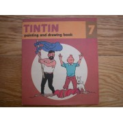 Tintin Painting And Drawing Book Cahier À Dessin 7