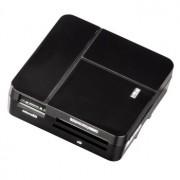 CARD READER, Hama All in One, Multicard Reader, USB2.0, Black (94124)