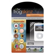 Frogskinz Flower Child Protezione schermo e rotella per iPod 30/60/80 GB Video