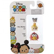 Disney Tsum Tsum Series 3 Mickey Miss Bunny & Iago 1 Minifigure 3-Pack #101 311 & 330