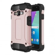 For Samsung Galaxy J1 Mini Prime Armor TPU + PC Combination Case (Rose Gold)