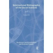 IBSS: Political Science 2008: Vol. 57 by The British Library of Political and Economic Science