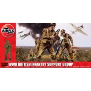 Airfix - A04710 - Maquette - British Infantry Support Set - Echelle 1:32