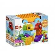LEGO DUPLO Creative Play Toddler Build and Pull Along 10554