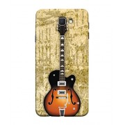PrintVisa Acoustic Guitar 3D Hard Polycarbonate Designer Back Case Cover for Samsung Galaxy J7 Prime (2016)