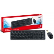 Kit tastatura + mouse wireless Genius Slimstar 8000ME