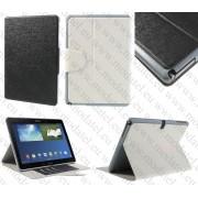 "Samsung Galaxy Note 10.1 P600 (2014 Edition) / Galaxy Tab Pro 10.1 T520 T525 - кожен калъф Ultra thin - ""ORACLE STYLE"""