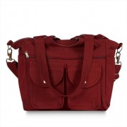 Chele and Maye Burnt Red Classic Nappy Bag
